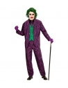 Déguisement de Clown Maléfique homme (veste avec gilet, pantalon, cravate)