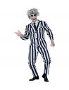 Déguisement Clown Fantome Homme (veste, pantalon, cravate)