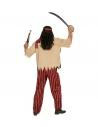 Déguisement Pirate Garçon (chemise avec veston et ceinture, pantalon, bandeau)