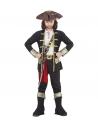 """""""CAPITAINE PIRATE"""" (casque avec chemise, pantalon, ceinture, porte-epée avec boucle, bandeau, chapeau, sur-bottes)"""