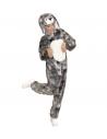 LAPIN EN PELUCHE DOUX MIXTE (costume avec capuche et masque)