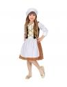 Déguisement Servante Médiévale Fille (robe, coiffe)