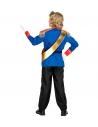 Déguisement prince charmant enfant (veste, pantalon, ceinture, écharpe)