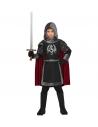 CHEVALIER NOIR (veste à capuchon et manteau)