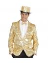 Déguisement Cabaret Showtime Or Homme (veste avec paillettes)