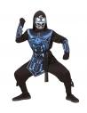 """""""CYBER NINJA"""" (casaque à capuche,surcot, ceinture, protection pour les bras, masque avec lumière clignotante et 3 sons de robot)"""
