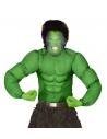 Déguisement Muscle Vert Garçon (chemise)