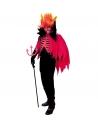 Déguisement Diable Homme (casaque, cape avec col, cornes)