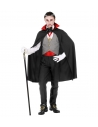 VAMPIRE ADULTE OU ENFANT (gilet, ceinture, noeud papillon, collier avec médaillon, gants, Cape)