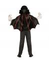 Déguisement vampire garçon (gilet avec chemise et jabot, pantalon, cape)