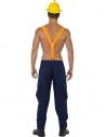 Pantalon et bretelles pompier sexy | Déguisement