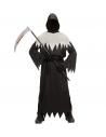 FAUCHEUSE DE LA MORT (tunique à capuche, masque cachant le visage, ceinture)