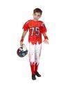 JOUEUR DE FOOTBALL AMERICAIN ZOMBIE, ADULTE OU ENFANT  (tee - shirt rembourré, pantalon)