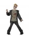 Déguisement zombie garçon (veste avec chemise torse pourri, pantalon)