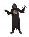 Déguisement Démon Garçon (tunique à capuche, gants, masque)