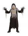 Déguisement Momie Enfant (tunique à capuche, gants, masque)