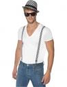 Set Bicolore homme (chapeau et bretelles)