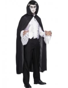 Cape vampire noire avec capuche | Déguisement