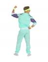 Déguisement Survêtement de Sport Année 80' Vert (veste, pantalon)
