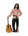 Déguisement Hippie Dude Homme (chemise, pantalon, ceinture)