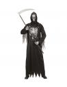 Déguisement Fossoyeur noir et gris, garçon  (tunique avec chaine, masque à capuche)