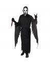 Déguisement Screaming Ghost Adulte (tunique avec capuche, ceinture, masque avec capuche)