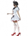 Déguisement zombie femme (robe, tablier, poitrine en latex)