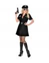 Déguisement policière noir (robe, ceinture)
