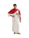 Déguisement Romain Marc Aurele Homme (tunique avec toge, ceinture, couronne de laurier)