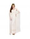 """""""IMPERATRICE ROMAINE"""" (robe avec voiles et perles, couronne de laurier avec voile)"""