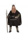 Déguisement Viking Homme (manteau, pantalon, ceinture, brassards, jambières, cape, casque)