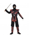 Déguisement Ninja garçon Dragon en flammes (combinaison avec armure, masque)