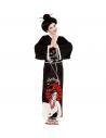 Déguisement GEISHA fille (kimono, ceinture, peignes)