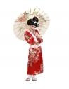 """""""GEISHA ENFANT""""   (kimono rouge, ceinture)"""