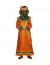 ROI BIBLIQUE ENFANT (tunique orange, couronne)
