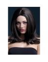 Perruque Sophia sexy 43 cm, brune