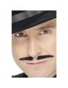 Moustaches latino noires auto-adhésives