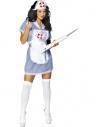 Déguisement infirmière bleu et blanc | Déguisement