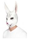 Masque lapin, Blanc, Masque couvrant toute la tête, latex