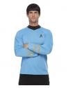 Star Trek, tenue de travail de scientifique de la série originale, Bleu, Haut