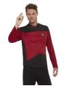 Star Trek, uniforme, Bordeaux, Homme (Haut)