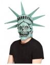Masque intégral crâne statue de la  liberté (latex)
