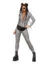 Déguisement holographique disco Miss Whiplash Fever, Combinaison zippée