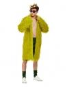 Costume de roi du cannabis, Vert, Manteau, short, chaussettes et couronne