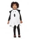 Déguisement de fantôme pour tout-petit,1 à 4 ans, (Tabard blanc)