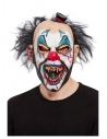 Masque tête de clown maléfique, latex