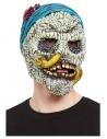 Masque intégral crâne barnacles, latex