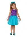 Déguisement de sirène pour tout-petit, Bleu, 1 - 4 ans (Robe et bandeau)
