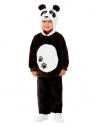 Déguisement de panda pour tout-petit, Noir (Haut avec capuche et pantalon)