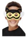 Masque d'abeille en feutre avec élastique (enfant)